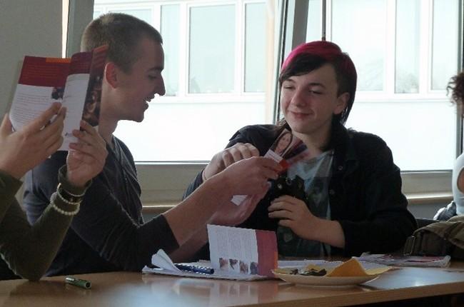 Schüler zu Gast bei bikup