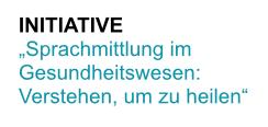 Logo_Sprachmittlung im Gesundheitswesen