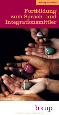 Flyer Fortbildung zum Sprach- und Integrationsmittler