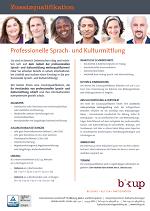 Download Infoblatt: Professionelle Sprach- und Kulturmittlung